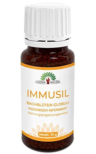 Adema Natural IMMUSIL Globuli - Immunsystem stärken, bei Erkältung, Schnupfen, Globuli mit 10g Inhalt