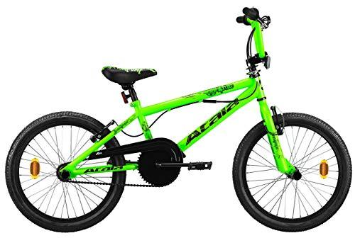Bici Atala crime 20'' bicicletta freestyle nero giallo verde bmx da strada