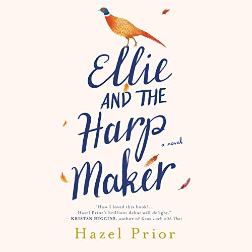 Ellie and the Harpmaker audiobook cover art