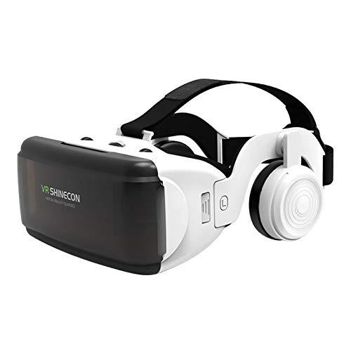 MERIGLARE Óculos de Realidade Virtual com Fone de Ouvido VR 3D VR Google para IOS Movie Video Game