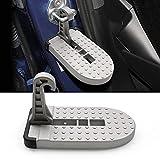 YEE Pin Volvo XC60 XC90 XC40/ V W ID.4 T-R O C/Peugeot 4008 5008 / Skoda Escalera peldaño Plegable Puerta para SUV | fácil Limpieza del Techo | estriberas Escalera Plegable