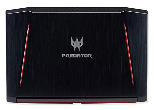 "Acer Predator Helios 300 Gaming Laptop, 15.6"" Full HD IPS, Intel i7 CPU, 16GB DDR4 RAM, 256GB SSD, GeForce GTX 1060-6GB, VR Ready, Red Backlit KB, Metal Chassis, Windows 10 64-bit, G3-571-77QK"