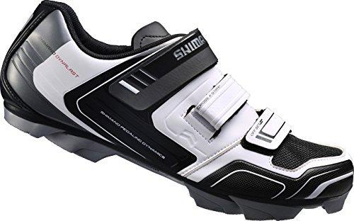 Shimano SH-M089W - Zapatillas MTB para hombre, Blanco, 47 EU
