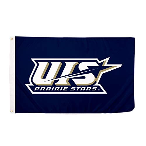 Desert Cactus University of Illinois Springfield UIS Prairie Stars NCAA 100% Polyester Indoor Outdoor 3 feet x 5 feet Flag
