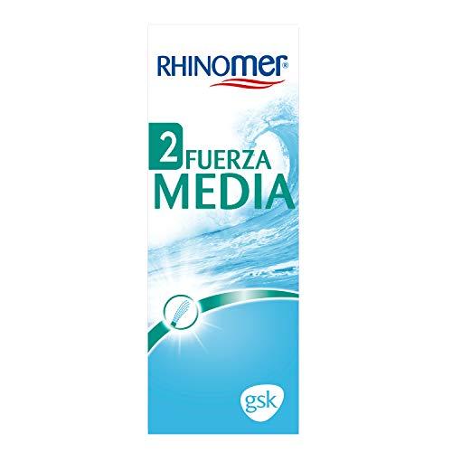 Rhinomer - Spray nasal 100% agua de mar, fuerza media 2, para adultos y niños a partir de 2 años - 135 ml
