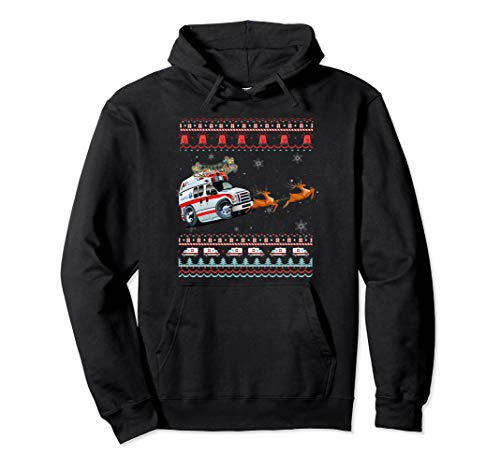Christmas Ambulance Hoodie