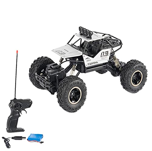 Double Motors Remote Control Car,1:18 4WD RC Cars Alloy Speed 2.4G Radio Control AlloyOff-Road Trucks Toys Gift,for Kids Above Eight Years Old.