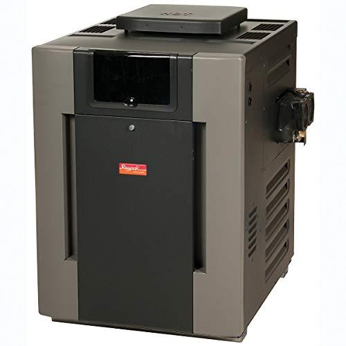 Raypak Digital Low NOx Natural Gas 399000 BTU Pool Heater 9243