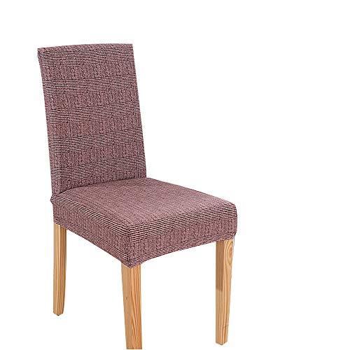 YUANYOU Stretch Spandex extraíble, Fundas para sillas de Comedor, Sala de Estar, Cocina, Restaurante, decoración de Bodas, Fundas para sillas (Gris)
