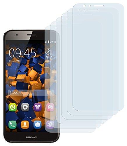 mumbi Schutzfolie kompatibel mit Huawei G8 / G8x Folie klar, Bildschirmschutzfolie (6X)
