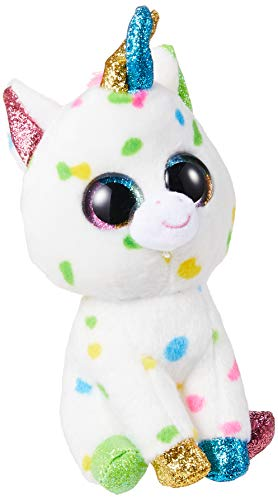 Ty Harmonie Peluche Unicornio, Color Multicolor, Blanco (