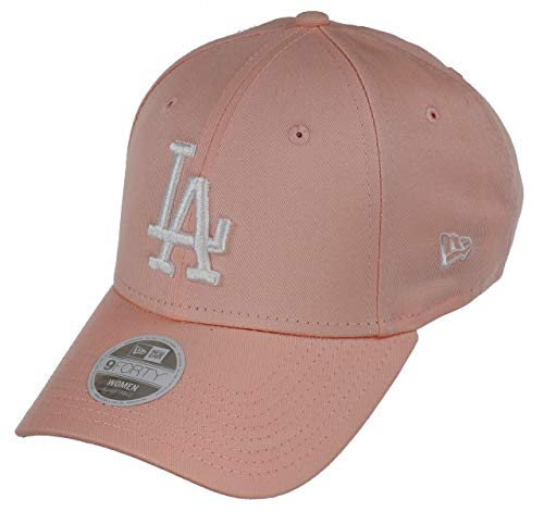 New Era Los Angeles Dodgers Cap New Era MLB Baseball 9forty Damen Verstellbar Rosa - One-Size