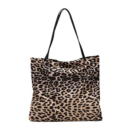 TENDYCOCO bolso de mano de mujer bolso de leopardo bolso de compras...