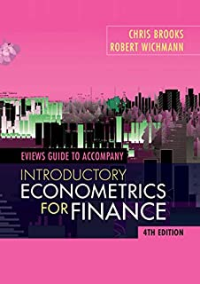 EViews Guide for Introductory Econometrics for Finance