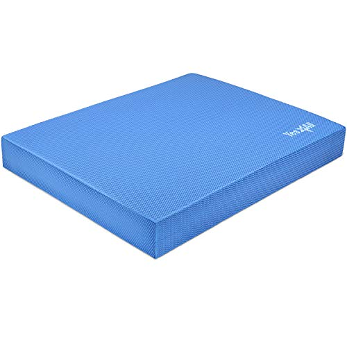 Yes4All Balance Pad X-Large – Exercise Foam Cushion (Blue)