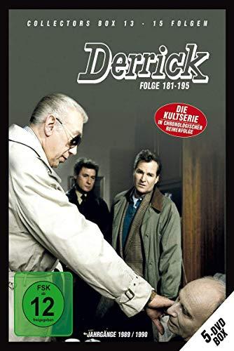 Derrick Collector's Box 13 (Episode 181-195) [5 DVDs]