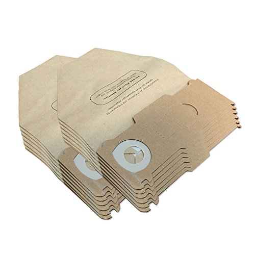 KIT - 12 Sacchetti Per Aspirapolvere adatti per Vorwerk Kobold Folletto VK 130, 131 SC, VK130, VK131 - Adattabili