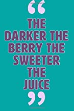 Best the darker the berry the sweeter the juice Reviews