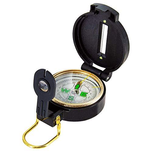 PremiumX Kompass für SAT-Anlage Freizeit, Hobby, Camping Taschenkompass Peilkompass Wayfinder Outdoor