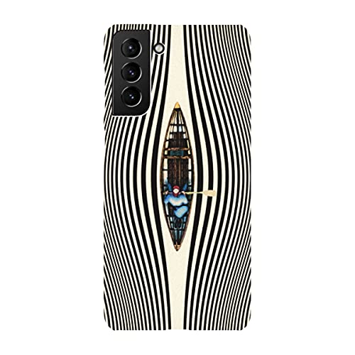 artboxONE Premium-Case Handyhülle für Samsung Galaxy S21 Plus Illusionary Canoe Ride von Taudalpoi