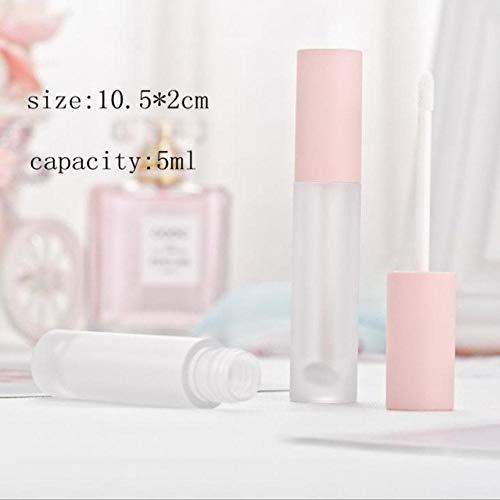 SAGIUSDM 5 piezas 5ml Tubo de lápiz labial de oro rosa rosa...