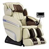 Osaki OS-7200H 'Zero Gravity' Massage Chair - Cream