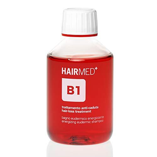 HAIRMED - B1 Shampoing Bio Professionnel Antichute de Cheveux - sans Sulfate, sans Parabènes et sans Silicone - 200 ml