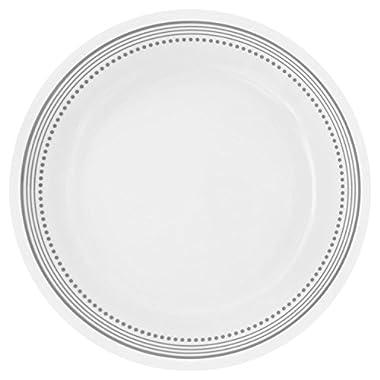 Corelle Livingware Mystic Gray 8.5  Lunch Plate (Set of 8)