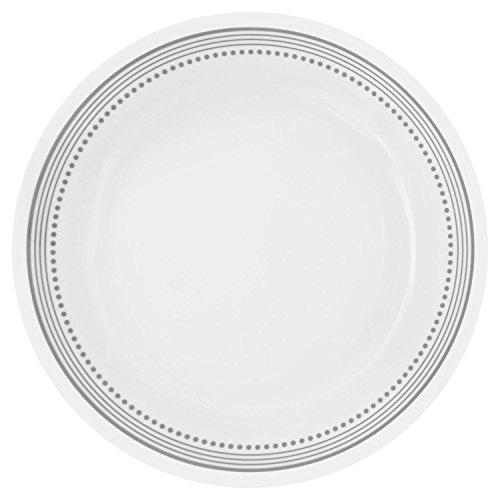 Corelle Livingware Mystic Gray 8.5' Lunch Plate (Set of 8)