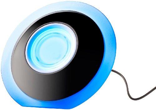 Lunartec LED Farbleuchten: LED-Stimmungsleuchte mit Touch-Farbregler und USB-Anschluss (USB Tischlampe)