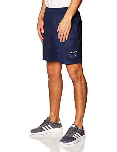 adidas Argyle Short Pantalones Cortos de Deporte, Hombre, Night Indigo, M