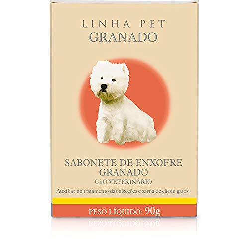 Sab.Enxofre 90gr ( Pet ) Granado para Cães
