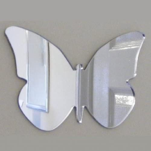 Cool Creations Butterfly Big Wings Mirror Acrylic 3 X 20cm Financial 100% quality warranty! sales sale 14cm