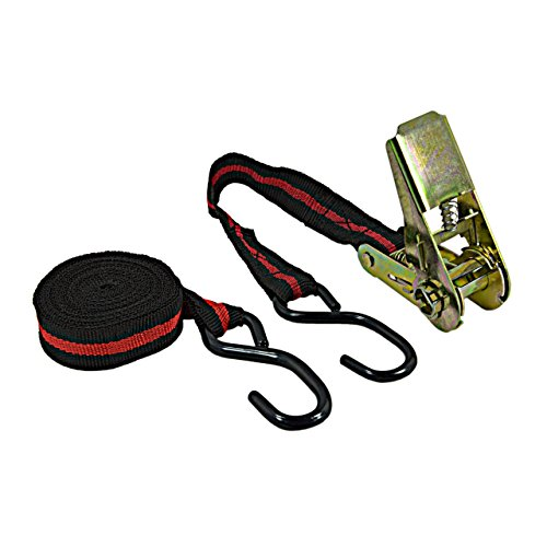 ASIS nettrade spanriem spanband sjorriem met ratel - 2 stuks - 2 sets - tweedelig - 1 x 5 m - houdt stabiel en veilig