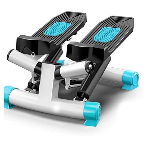 GXLO Hogar caminadora Mini de Pasos Deportes El Ejercicio de la Pierna de la Cintura de la máquina Silencio hidráulico máquina del Pedal Cuerpo de Interior Equipo de Entrenamiento,A
