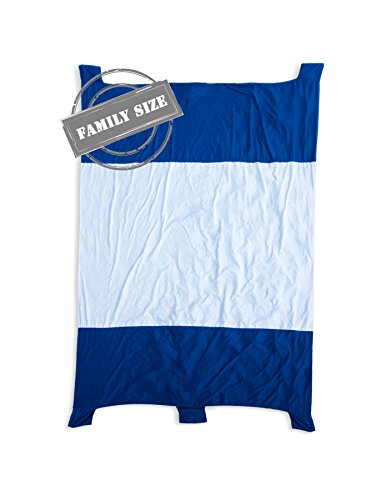 Beach Blanket with Zipper Design Stitched with New Water Proof and Sand Proof Diamond Rip-Stop Nylon Parachute Material Picnic Beach Blanket By Jeneric Designs
