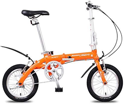 Aoyo Mini Folding Bikes, leichte, tragbare 14