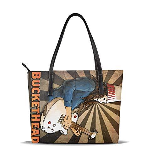 Buckethead Women 'S Fashion Hochleistungs-Handtasche mit hoher Kapazität, wasserdicht, leicht und langlebig