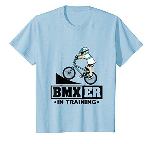 Kids BMXer In Training T-Shirt - BMX Bike Boys Girls Tee