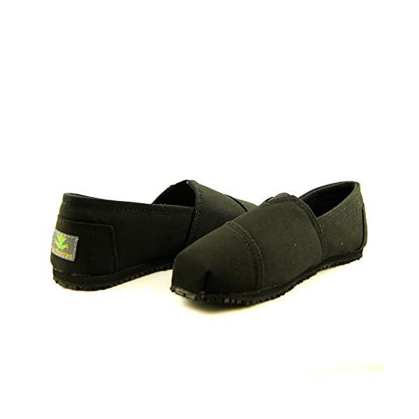 Laforst Dale 3312 Womens Work Slip Resistant Flat Slip On Shoes Black 11