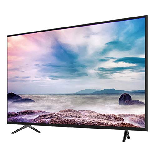 Home appliances Televisores Smart 4K UHD TV, Televisor LCD Ultrafino De Pantalla Plana De 55 Pulgadas con WiFi, Pantalla De Vidrio Templado, Sonido Dolby Interfaz De TV Enriquecida