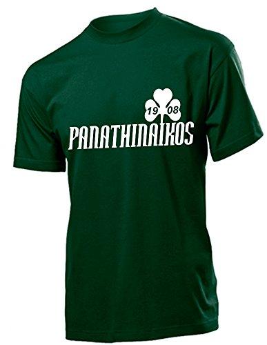 Panathinaikos Athen Griechenland Hellas Shirt Greece (XL, Grün)