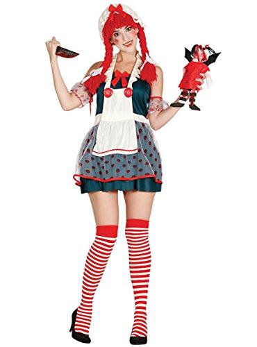 Disfraz de muñeca diabólica