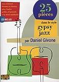 Gypsy Jazz 25 Pieces d.Givone CD Tab