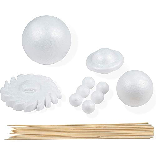 Solar System Kit, Arts and Crafts Supplies (22 Pieces)
