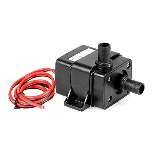 UEETEK Mini 3.6W DC12V Micro Brushless Wasser Ölpumpe Tauchmotor 240L / H Lift 3M