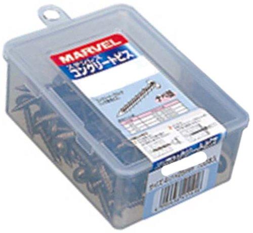 マーベル ステンレスコンクリートビス 皿頭 SCS-432