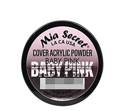 Mia Secret Acrylic Powder Cover Baby Pink 1/2 oz