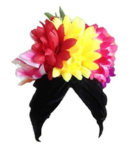 Carmen Miranda - Gorro de plumas para disfraz