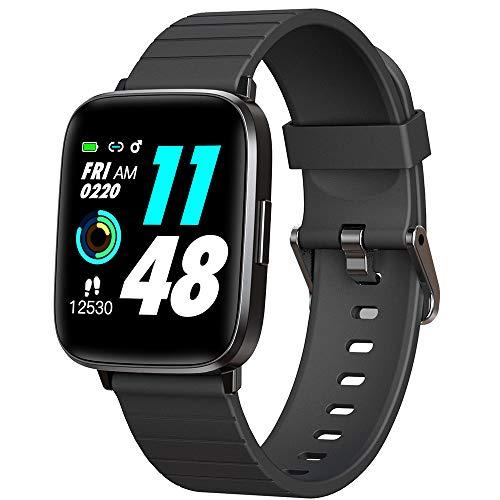 DOOK Smartwatch Hombre Mujer Reloj Inteligente Fitness Deportivo IP68 Impermeable Pulsómetros Entrenamiento Respiratorio Monitor De Sueño Smart Watch Bluetooth Compatible Android iOS